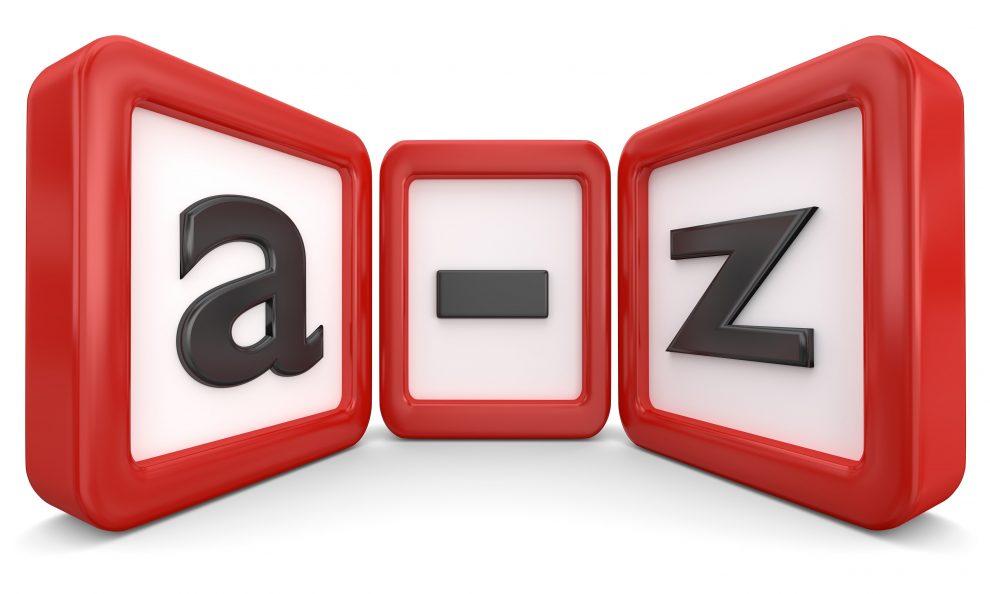 Typy od A do Z